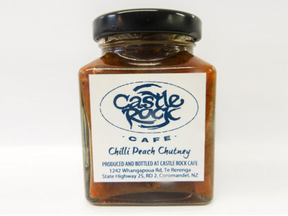 Castle Rock Cafe - Chilli Peach Chutney